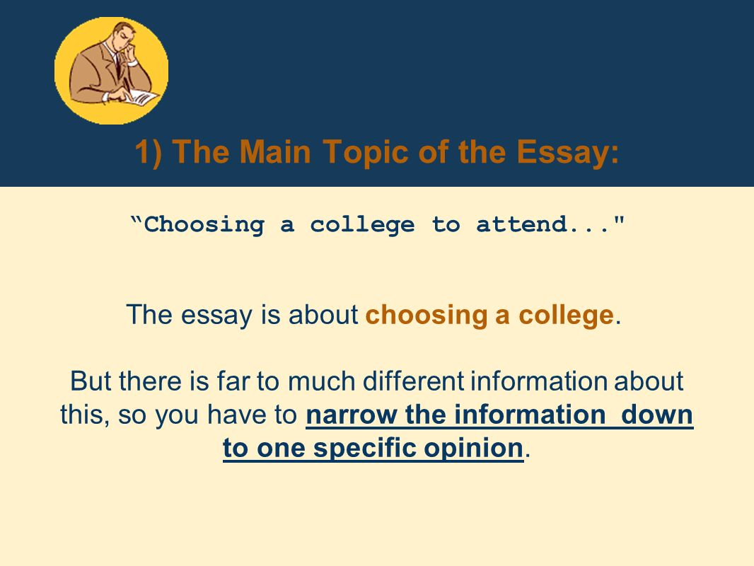 essay about choosing a college At the end of your four years, you want to feel like this, so take your why this college essay to heart  when choosing a college community, you are choosing a .