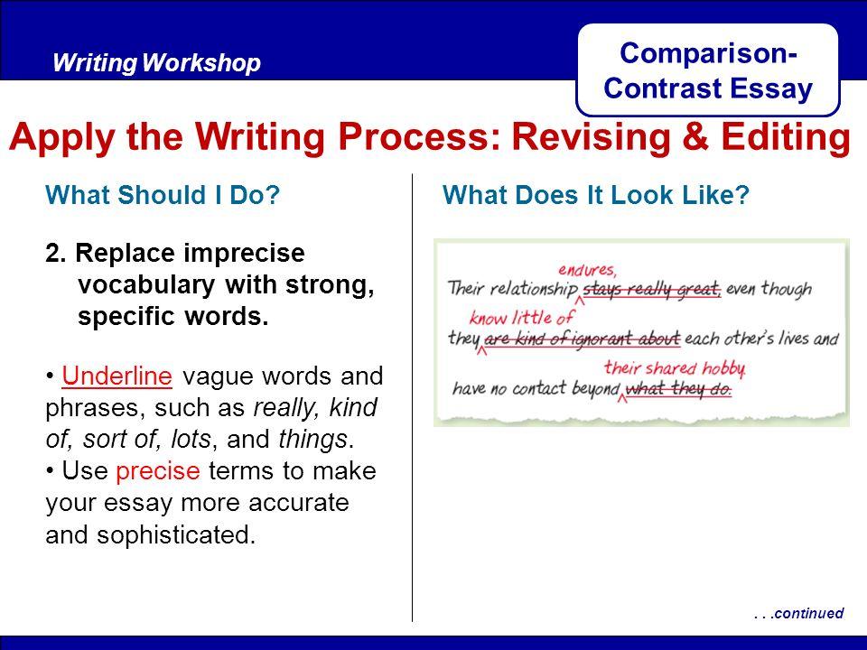 writing a comparisoncontrast essay Comparison/contrast essay instructions  choosing a topic, researching and writing a bibliography, and writing a comparison/contrast essay.
