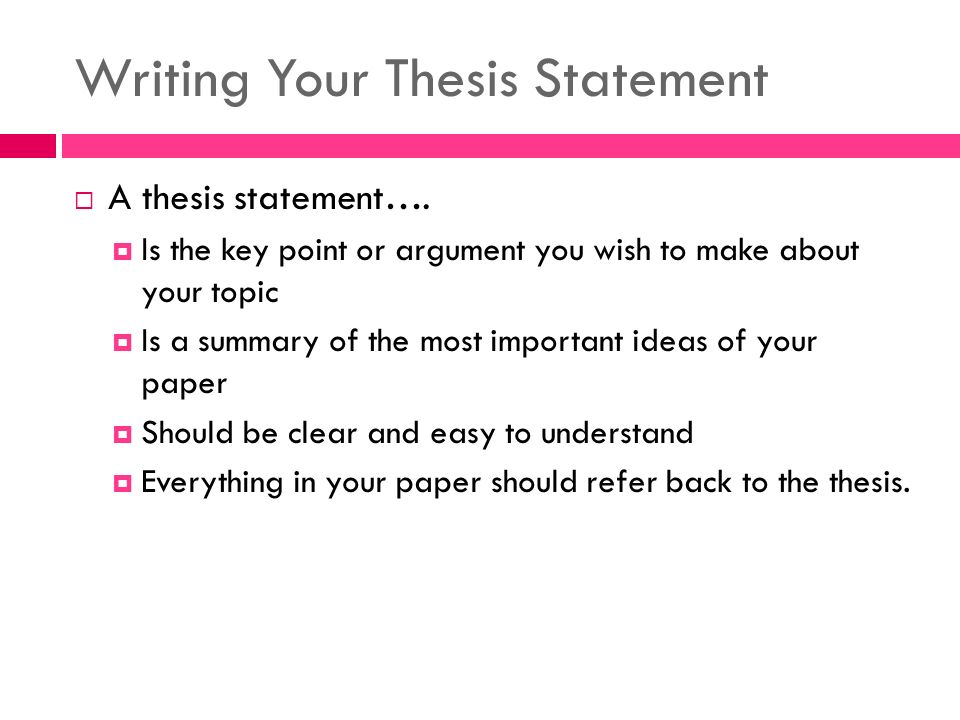 test your thesis statement Thesis statements: four steps to a great essay, using an example from the scarlet letter by nathaniel hawthorne | excerpt from how to write an a+ essay: a.
