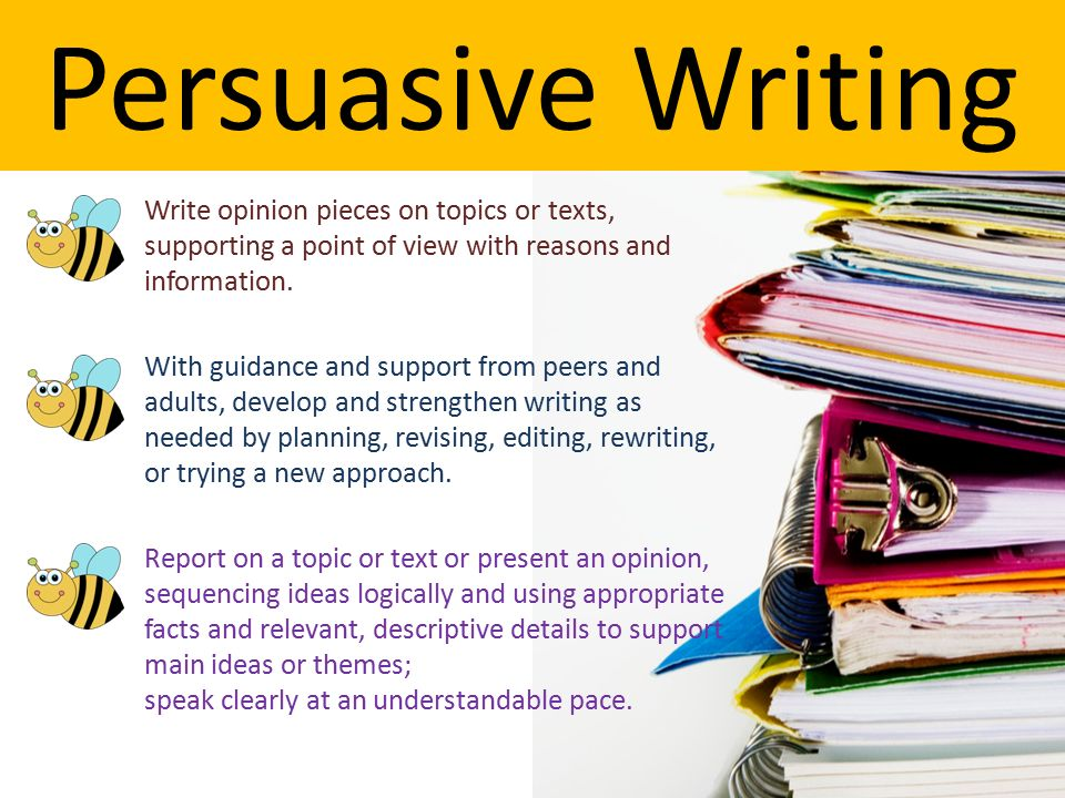Tips on how to write a persuasive essay