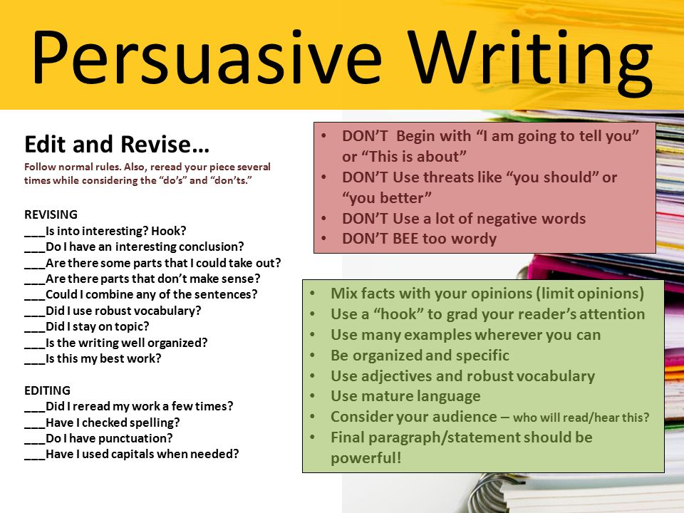 revising and editing a persuasive essay Editing persuasive revising and essay essay on development of science and technology youtube personal narrative essay outline template zillow essay writing service uk.