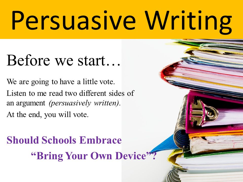 persuasive essay why you should read