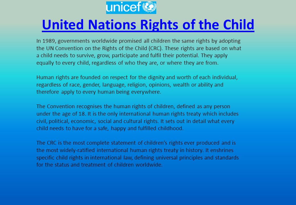 human rights act 1989 The human rights act (1998) (hra) effectively incorporates the requirements of the echr into english law the echr has significant implications for central and local government national legislation, such as the children act 1989 and the adoption and children act 2002, makes children's welfare the paramount consideration in, for example, cases.