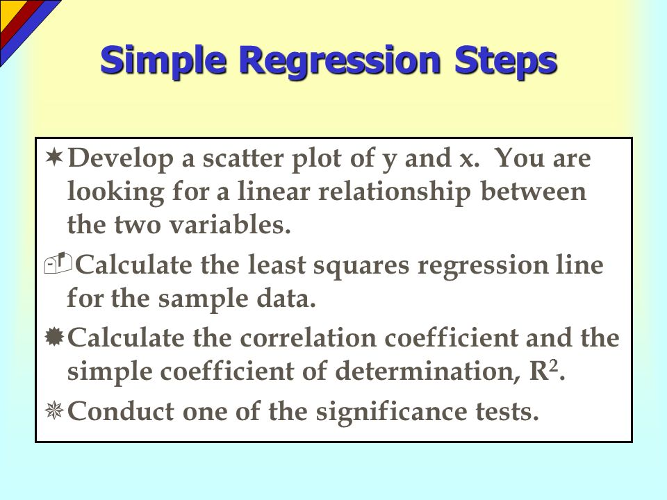 relationship between correlation and regression calculator