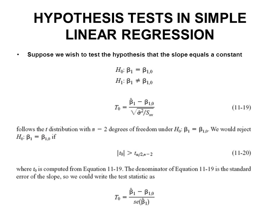 """statistical hypothesis testing and linear regression Data as a table the pandas data-frame hypothesis testing: comparing two groups student's t-test: the simplest statistical test paired tests: repeated measurements on the same indivuals linear models, multiple factors, and analysis of variance """"formulas"""" to specify statistical models in python multiple regression."""