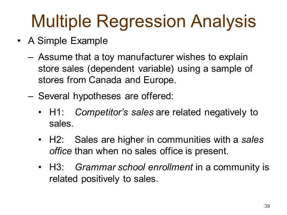 writing research questions for multiple regression data