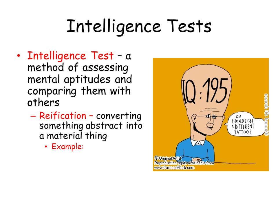 methods of assessing intelligence In pioneering a new assessment method, the authors also make a point of  these tests reflect the nature of intelligence, which is based on the practical ability.