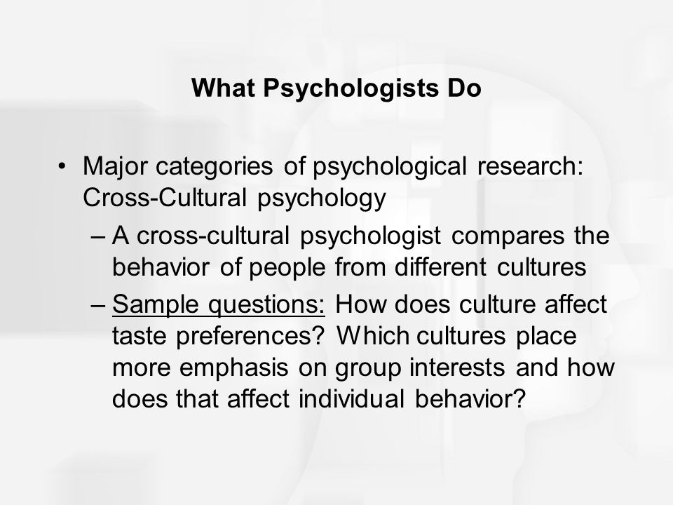 Cross-Cultural Psychology: Definition, History & Issues ...