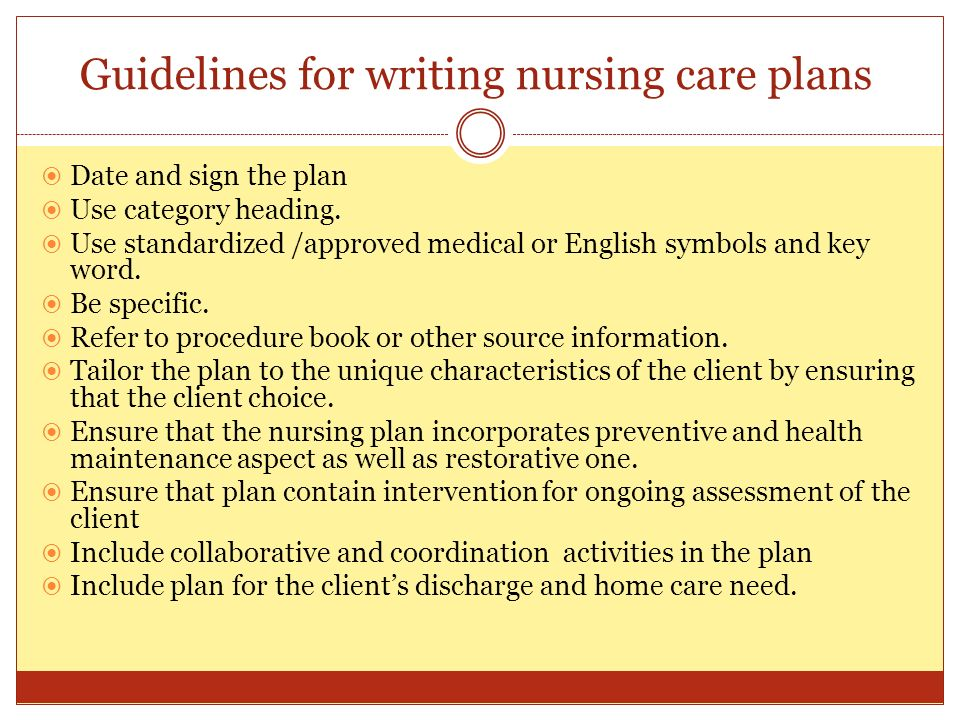Nursing care plan and specimens essay