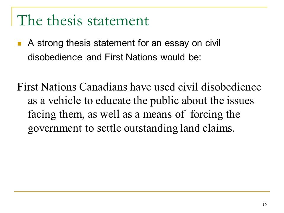 civil disobedience essay analysis Civil government and higher law in civil disobedience summary and analysis thoreau prepared his lecture and essay on resistance to civil government in.