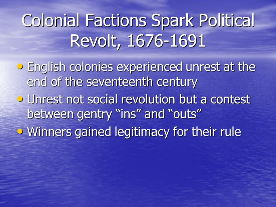 revolt on the virginia frontier nathaniel bacon and william berkeley Bacon's rebellion in  susquehannocks on the virginia and maryland frontier in 1676 were triggered  governor sir william berkeley nathaniel bacon, .