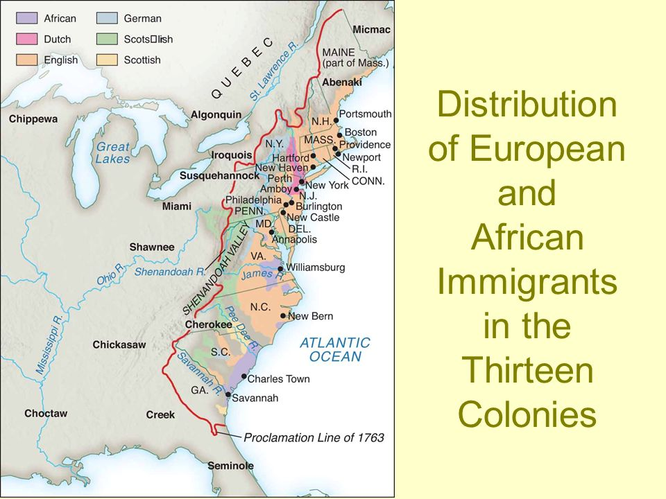 "the african immigration to colonial america Pennsylvania's policy of religious tolerance and its reputation as the ""best poor man's country"" attracted people from all walks of life during the colonial era by the time of the american revolution, philadelphia was the largest city in colonial america with a population above 32,000, it was noticeably larger than the next two largest cities, new york (25,000) and boston (16,000."