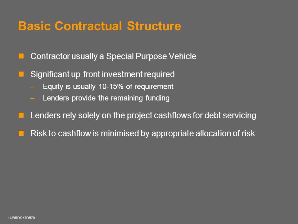 Basic Contractual Structure