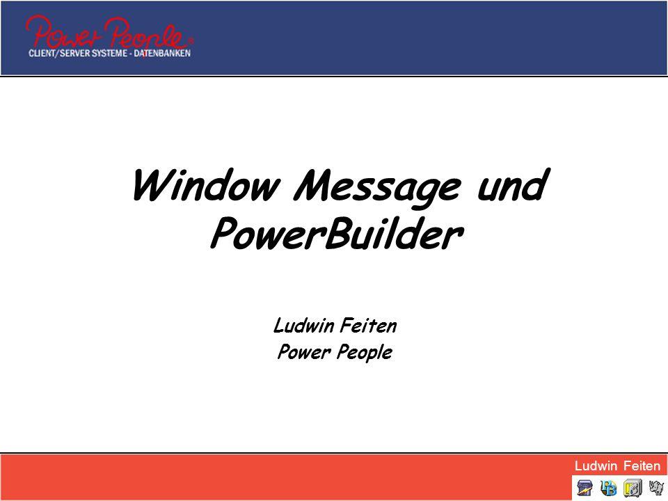 Window Message und PowerBuilder
