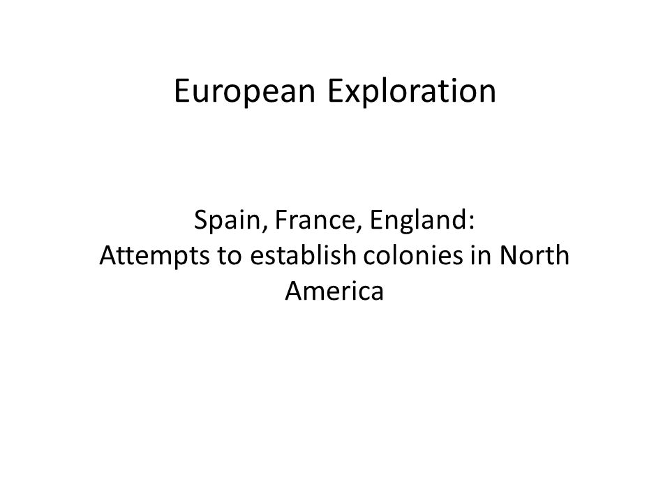 the important themes of english colonization in america The early english colonies because england got such a late start in the colonization game,  the sat ii test will focus on the particularly important english.
