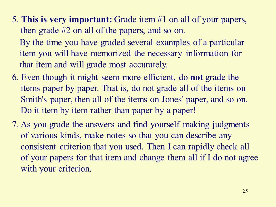 criterion grading papers term A criterion for evaluating papers and essays assign a letter grade the following criteria are used by colleges when assigning a grade to the paper.