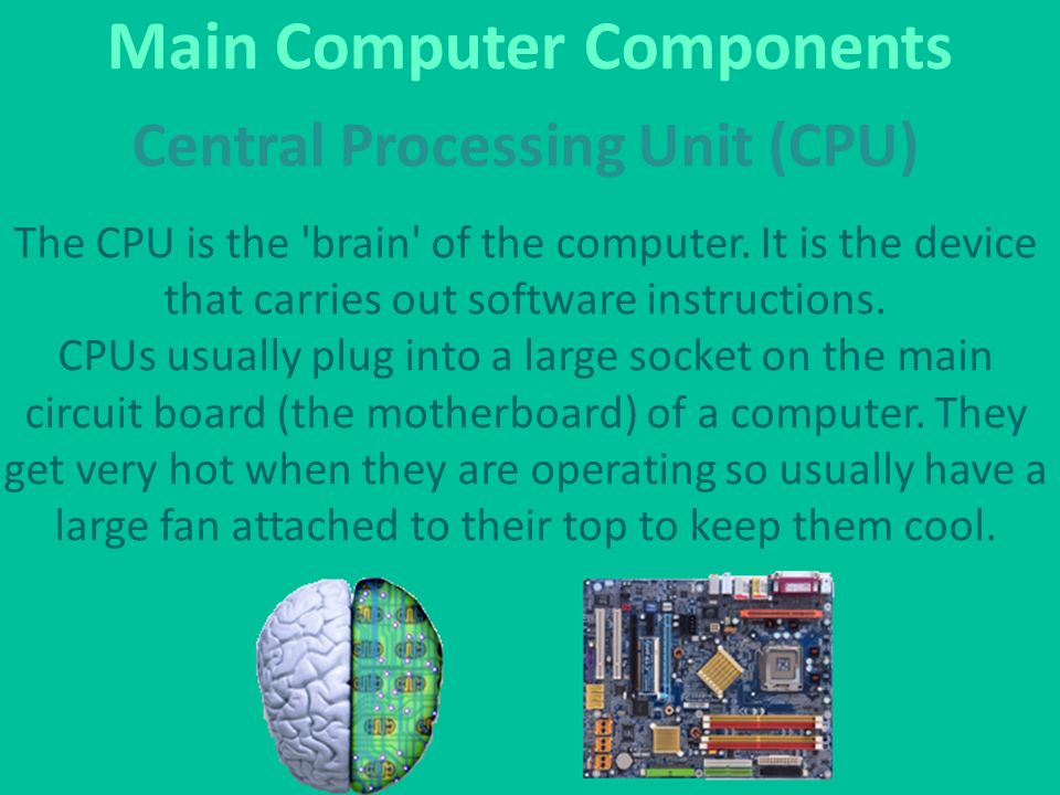 Main Components Of A Fan : What is a hardware the physical parts of