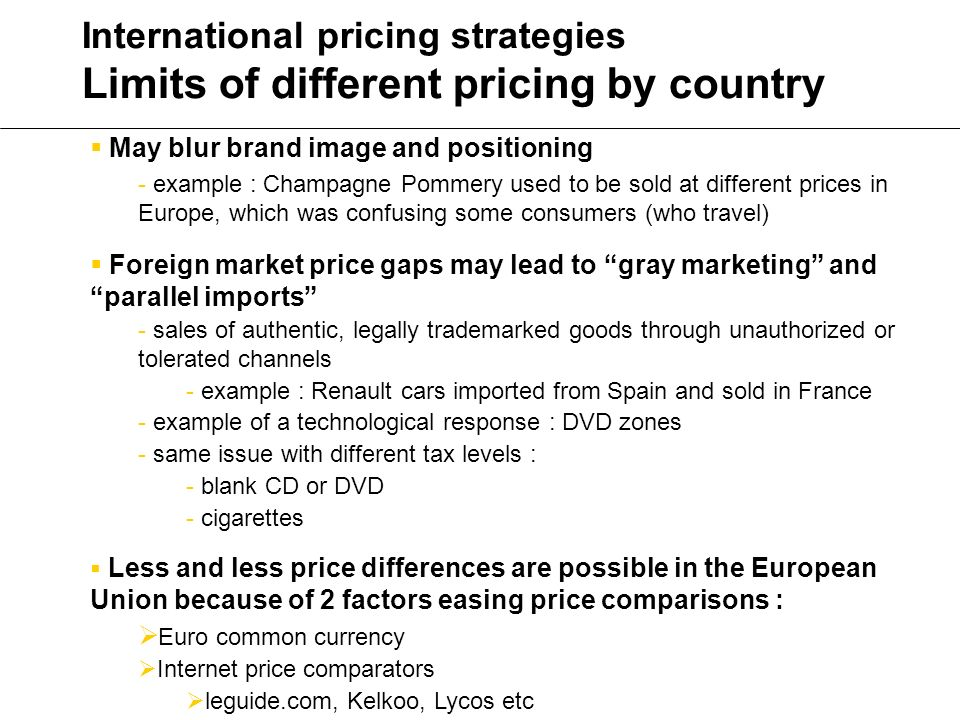 european union strategies in the global market The european union has become the largest global exporter of agricultural and   demonstrates the close ties between the european and the global market.