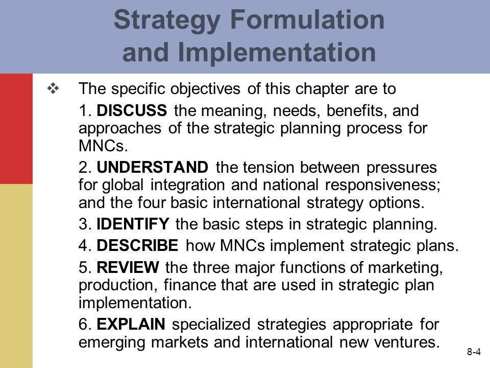 approaches to strategy formulation It can also be purchased individually or as a part of strategy development and   market-led and competence-based approaches to formulating strategies.