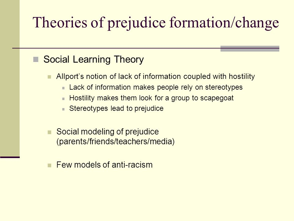 critically evaluate realistic conflict theory - realistic conflict theory as one of the oldest social psychology theories, the realistic conflict theory deals with the conflict and hostility that is projected to arise between individuals or groups competing over the same limited resources.