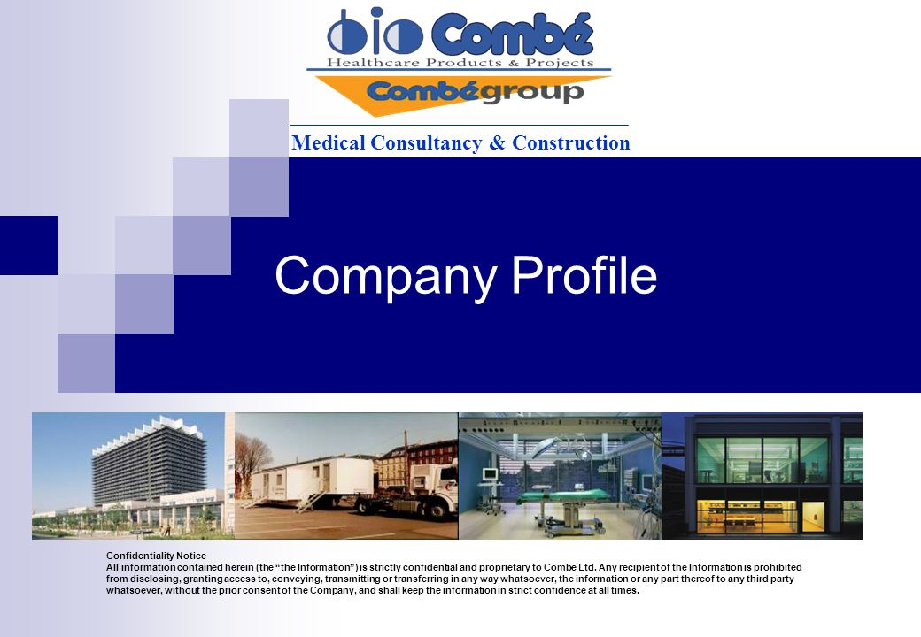 Company profile medical consultancy construction ppt for Design consultancy company profile