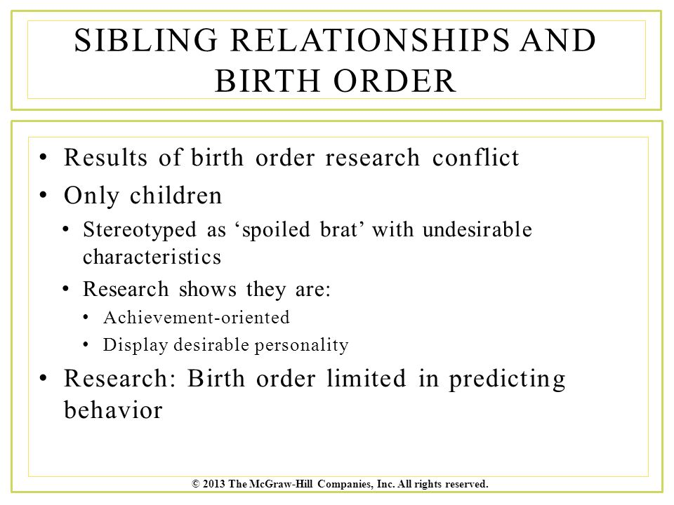 birth order dating compatibility Birth-order matchups so, how does birth order play out  but don't forget the most important relationship — the  regardless of how birth order plays out in.