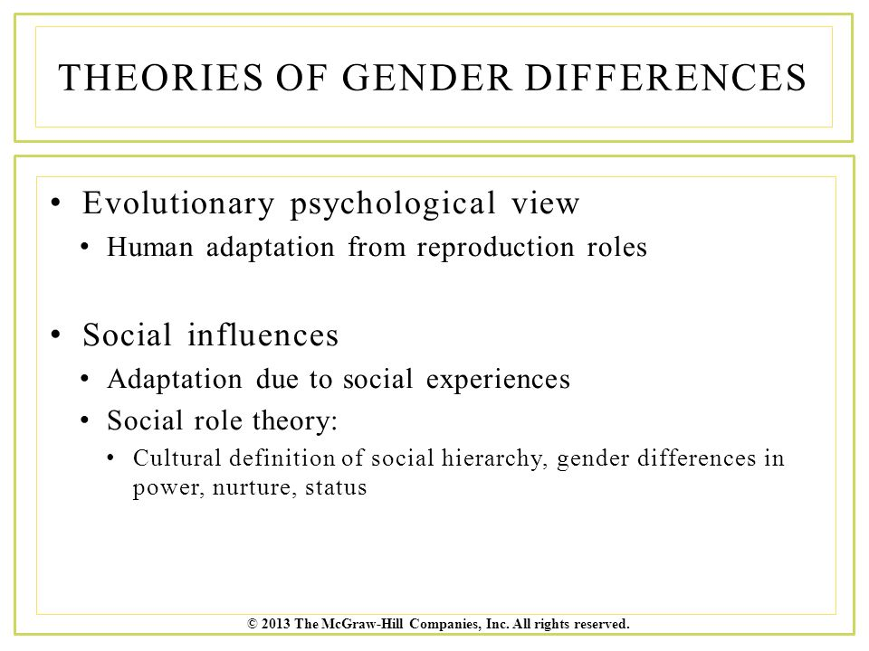 gender roles defined Gender role theory is grounded in the supposition that individuals socially identified as males and females tend to occupy different ascribed roles within social structures and tend to be judged against divergent expectations for how they ought to behave as a.