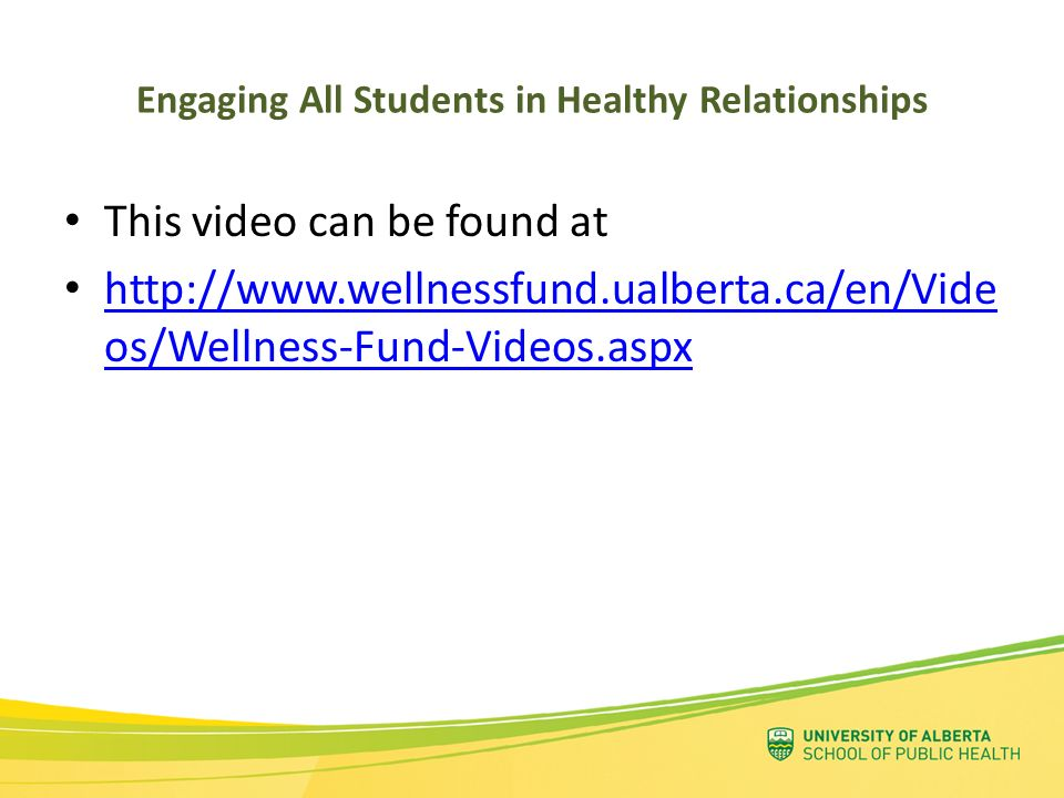 Engaging All Students in Healthy Relationships