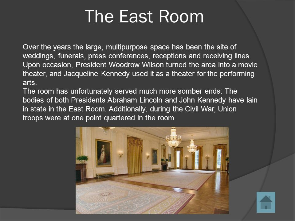 The white house ppt video online download for How much rooms does the white house have