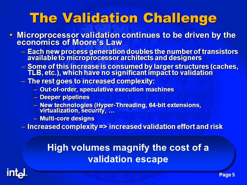 The Validation Challenge