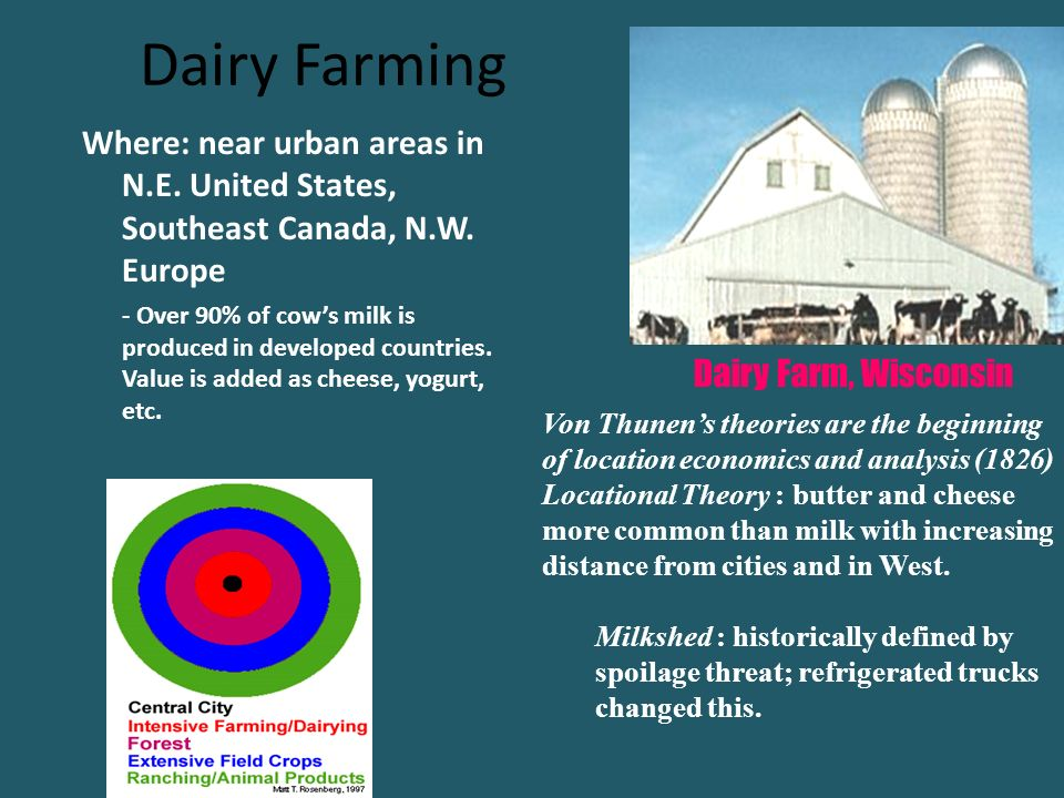 Classifying Agricultural Regions Ppt Download - Us map milkshed