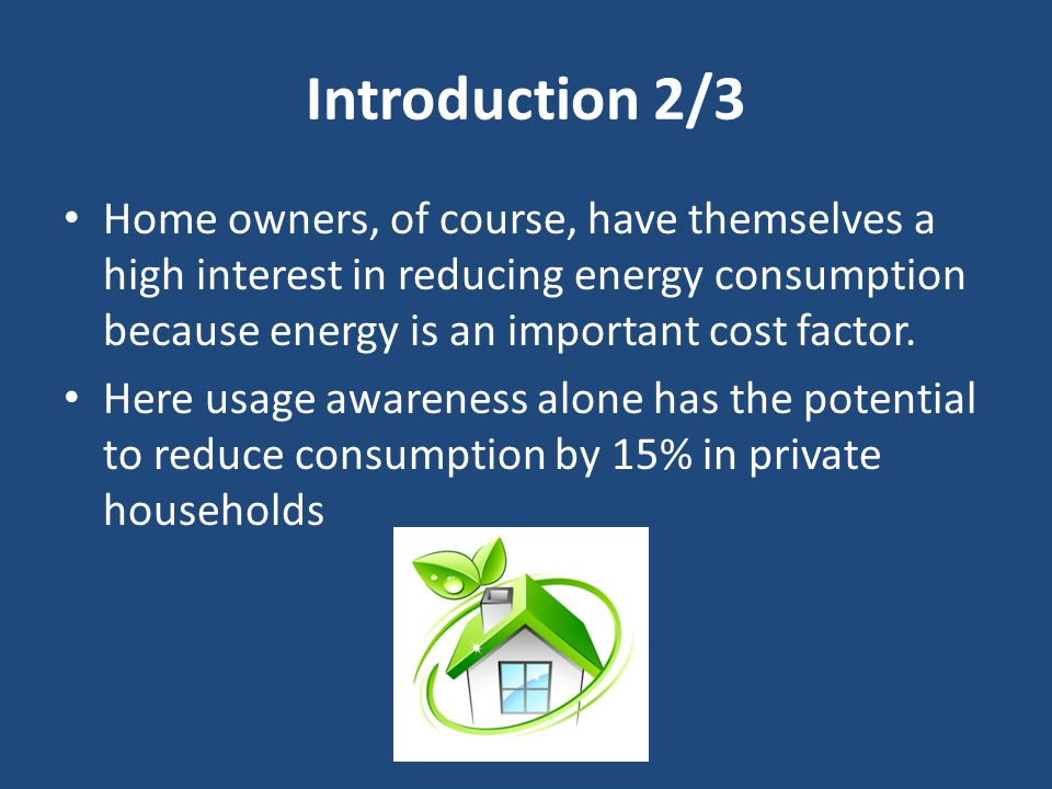 The Energy Aware Smart Home Ppt Video Online Download