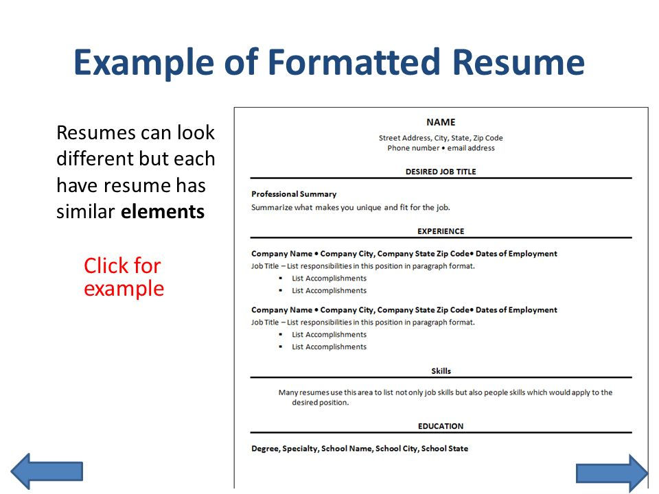 get noticed with an interactive resume ppt
