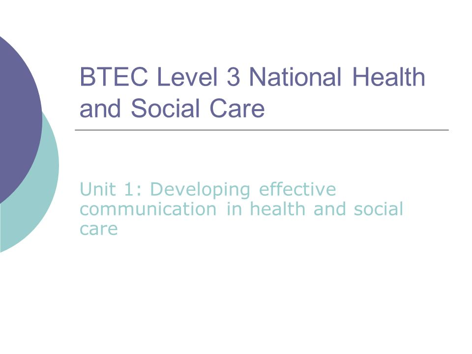 btec health sciences health and