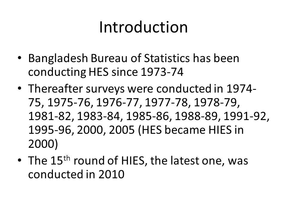 Bangladesh Bureau of Statistics ppt download