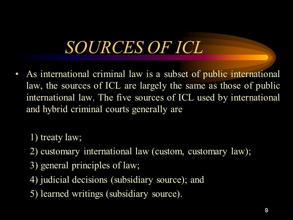 are treaties a better source of international law Second, the constitution is a source of law because it creates and allocates power between the legislative, executive, and judicial branches of the federal government, which are other sources of law and third, the constitution is a source of law because it allocates power between the federal government and the states.