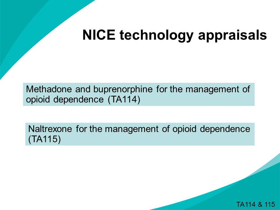 NICE technology appraisals