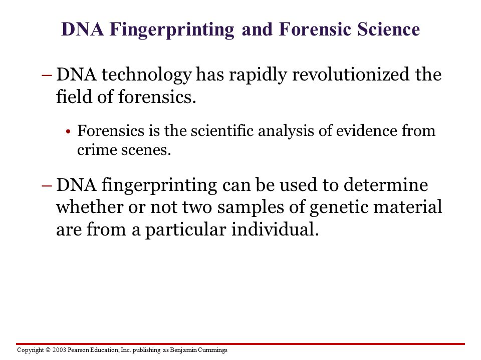 dna fingerprinting an impressive standard in identifying an individual Forensic dna- profiling (fingerprinting):  fingerprinting standard curve semi  dna profiling-alec jeffreys found portions of dna unique to each individual.