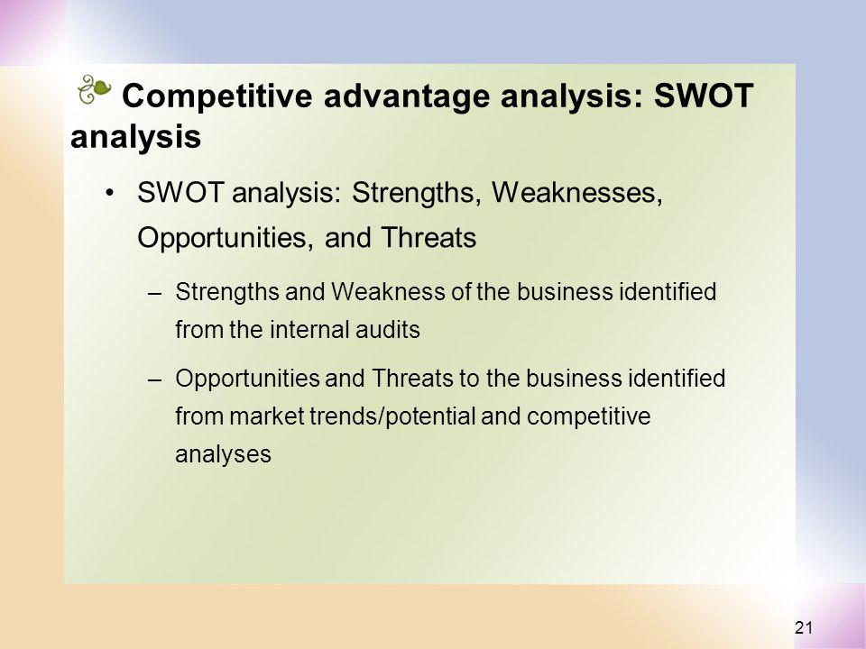 analysis of competitive advantage Recommendations to sustain its competitive advantage analysis of toyota motor corporation by thembani nkomo analyisis of toyota motor corporation.