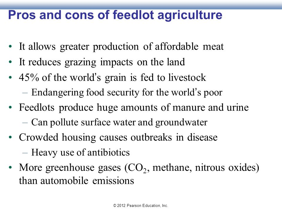 Soil agriculture and the future of food ppt download for Fish farming pros and cons