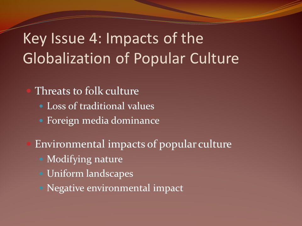 effects of globalization on folk culture