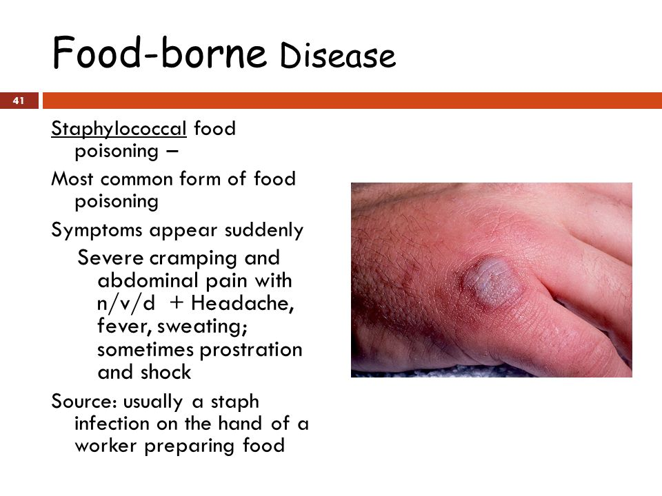 The Most Common Form Of Food Poisoning