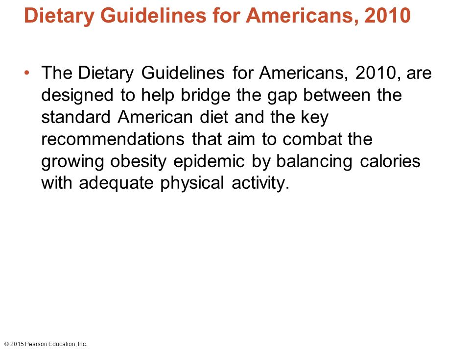 dietary guidelines for north americans and The specifics of dietary recommendations differ from country to country this  page details the recommendations of the 2015 dietary guidelines for americans.