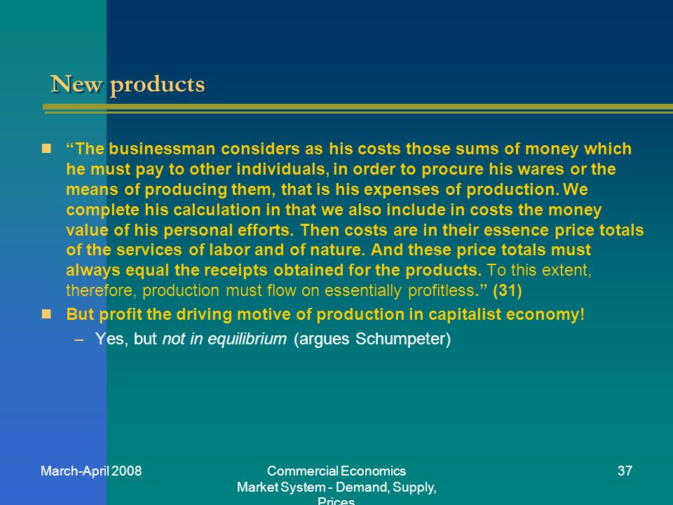 introduction to economics market systems demand Di⁄erentiated products demand systems (a) jonathan levin economics 257 stanford university prices are set through a non-market mechanism, making the demand side the natural place to start there are two general approaches to estimating demand.