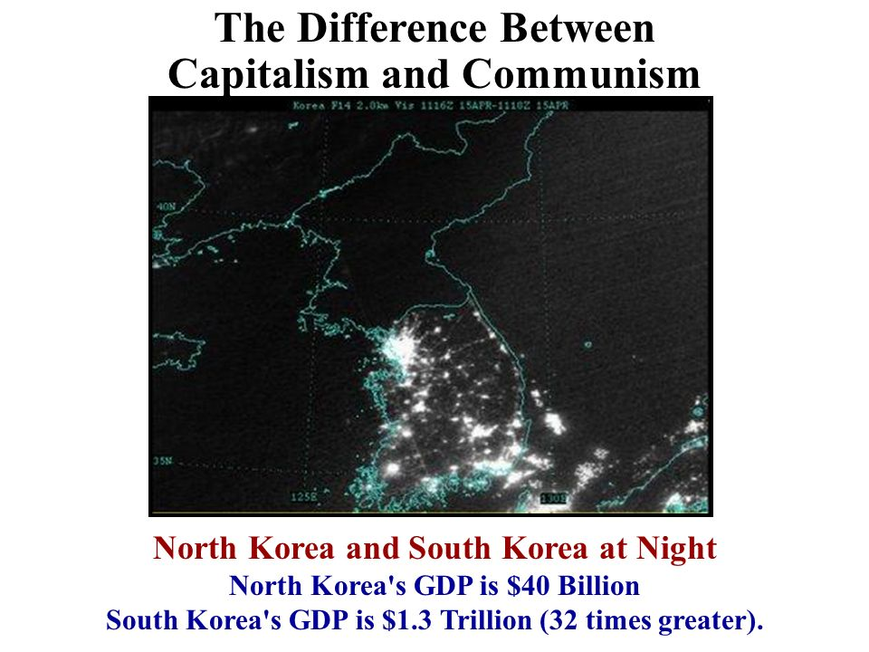 a comparison between the concepts of communism and capitalism Communism and capitalism take opposite approaches to private property for capitalists, private property is both the motivator and the reward for economic progress capitalists believe that one of government's main functions is to protect the property rights of individuals – and, by extension, the rights of owners.