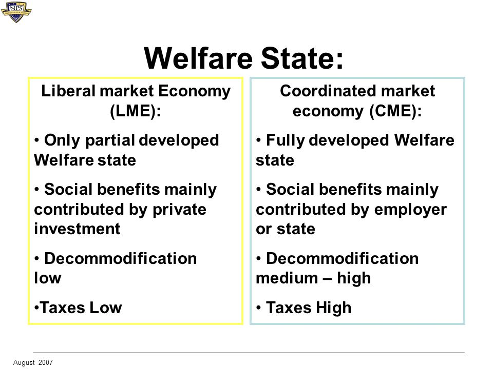 market economy in social welfare Private economic welfare requires us to consider only the private (or internal) costs and benefits of production and consumption of goods and services but if we wish to look at the economic welfare of the whole community (ie social welfare) then we need to calculate the positive and negative .