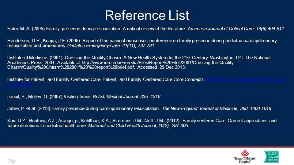 continuum of care presentation reference list Start studying quality final learn  is available to a wider audience than in a presentation  organizations optimize the continuum of care for their .