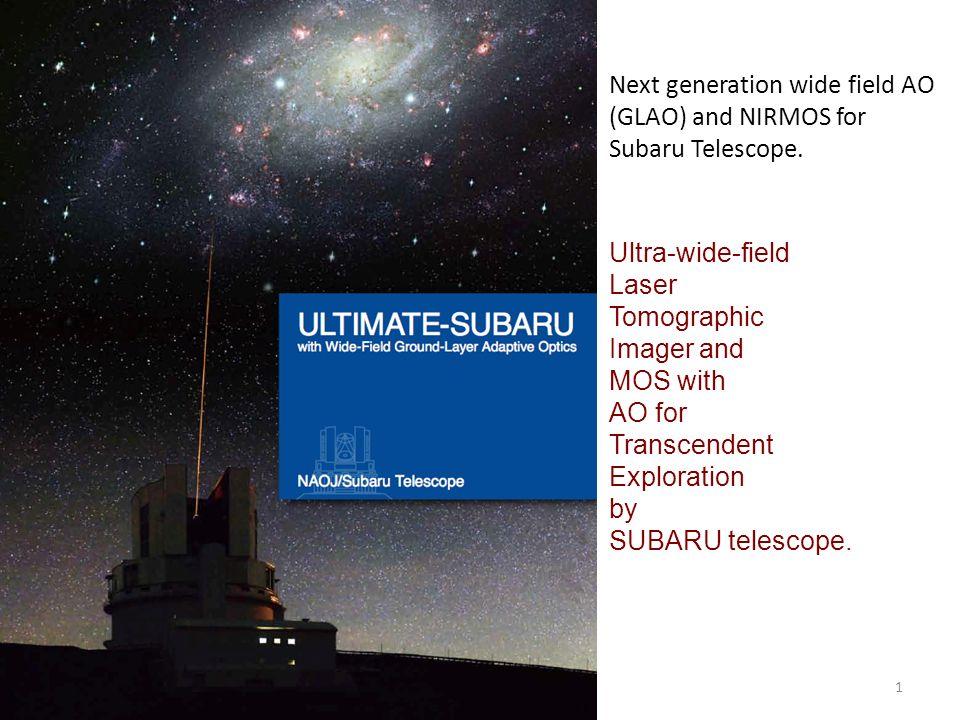 Next generation wide field AO (GLAO) and NIRMOS for Subaru Telescope ... 44594e8e2d85