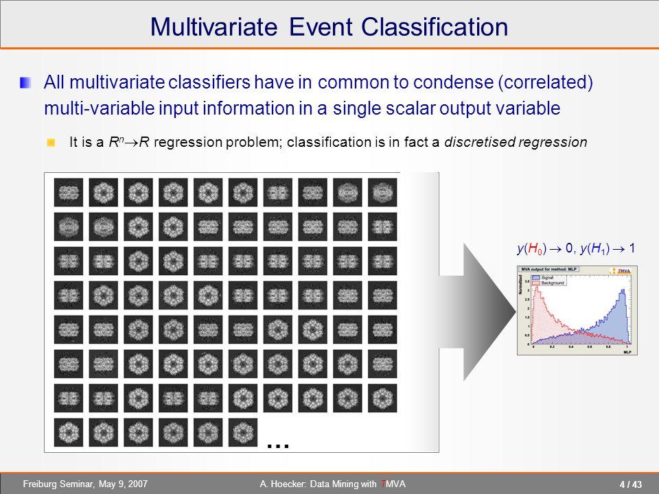 Multivariate Event Classification