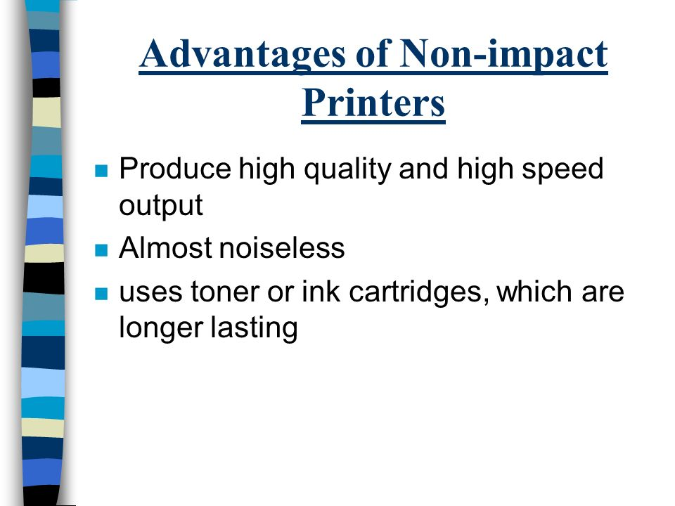 impact of it advantages and disadvantages of print and non print media However, each term has its on limitations  publications that stress the  importance of providing thorough and consistent cataloging for non print   identify the effect of number of non-print materials (npms) in the collection on the  degree of.